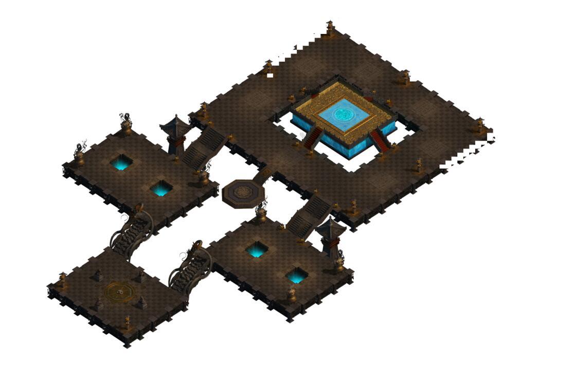 传奇幻魔阵地图素材0297